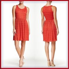 """FREE SHIPPING NWT Coral Lace Dress OFFER $30 FREE SHIPPING (weekend only) ➖NWT ➖SIZE : small (see measurements)  ➖BRAND: Max Studio  ➖STYLE: Coral lace dress   ➖MEASUREMENTS      ➖BUST: 16"""" with stretch : 34"""" -36"""" all the way around     ➖WAIST: 14""""    ➖LENGTH: 37""""    ➖SHOULDER TO WAIST: 16""""    ➖WAIST TO HEM : 21"""" Max Studio Dresses"""