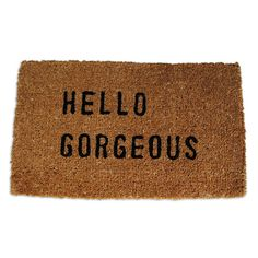 "Search Results for ""sugarboo hello sunshine door mat – domino Sugarboo Designs, Hello Sunshine, Dot And Bo, Hello Gorgeous, My New Room, Decoration, Home Accessories, Home Goods, Sweet Home"