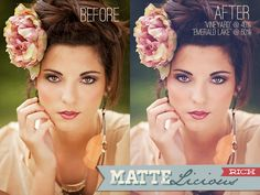 Matte Photoshop Actions & Lightroom Presets from Bellevue Avenue (bellevue-avenue.com) #matteactions #matte #actions #photoshop #lightroom #presets
