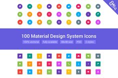 Check out Material Glyphs by EpicShop on Creative Market