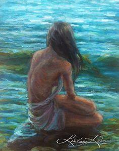Lindsay Rapp, Fb Like, Creative Skills, Female Art, Art Pictures, Serenity, Design Art, Art Drawings, Sea