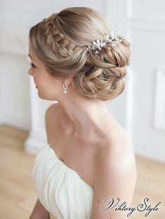 Свадебные стилисты www.vikstyle.ru. Свадебные прически. Свадебный стилист…