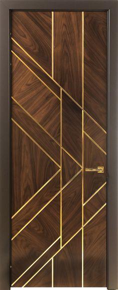 Чикаго – Stavros Doors Wooden Front Door Design, Main Entrance Door Design, Wooden Front Doors, Bedroom Door Design, Door Design Interior, Home Room Design, Flush Door Design, Modern Wooden Doors, Ceiling Design