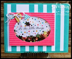 Shaker Card - Project Life by Stampin' Up Everyday Adventure Card
