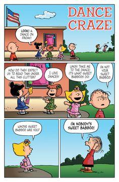 Peanuts Vol. 2 - Comics by comiXology Snoopy Comics, Snoopy Cartoon, Peanuts Cartoon, Peanuts Snoopy, Peanuts Comics, Funny Cartoons, Funny Comics, Peanuts Dance, Lucy Van Pelt