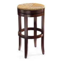 Grandin Road - Sconset Bar Stool - Solid hardwood frame. Handwoven rush seat. Cleverly  sc 1 st  Pinterest & LeMans Counter Stools - Italian Country Furniture - Hand Woven ... islam-shia.org