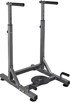 Pull Exercise and Home Fitness HeroFit Heavy Duty Dip Station Superior High-Performance Equalizer Bars for Triceps Dips Parallel Press 350 LB Max Workout Bar Machine