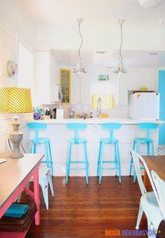 Beyaz'ın Monotonluğundan Sıyrılabileceğiniz Mutfak Dekorasyon Fikirleri | Moda Dekorasyon