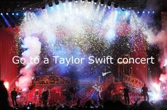 Been there, done that. Best concert of my life. She seriously puts on an awesome show! Speak Now 2011!