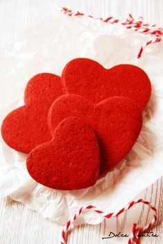 Galletas 'Red Velvet' (para decorar): deliciosamente vibrantes