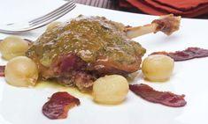 Receta de Confit de pato al horno con uvas