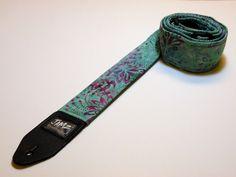 Handmade LUNA MARE Guitar Strap  Limited Edition by JamzOriginals, $40.00