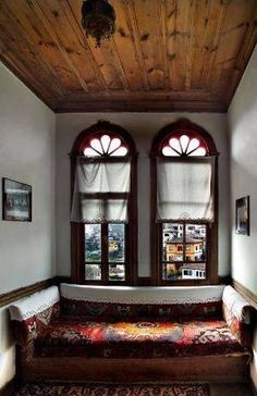 House in Safranbolu, Turkey. Turkish Architecture, Ottoman, Interior And Exterior, Interior Design, Old Houses, Beautiful Homes, Sweet Home, Decoration, House Design