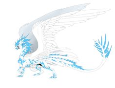 Blue Dragonclaw by Shadow-of-Destiny on DeviantArt