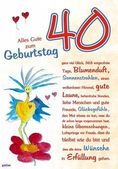 Die 7 Besten Bilder Von 40 Geburtstag Frau Creative Gifts Happy