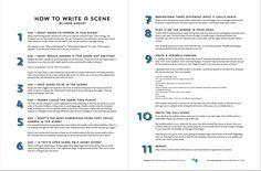 How To Write a Scene