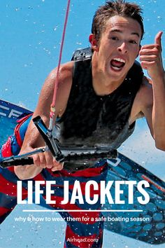 Head over to our blog for a quick read on safe boating and how to use life vests properly.