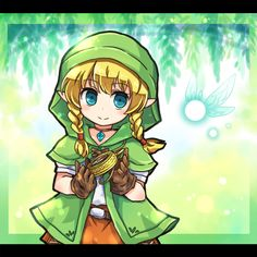 Linkle, Hyrule Warriors / Zelda Musou artwork by Pote (Ptkan)