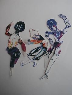 Expressionist Maquettes & Stop motion animation would do with yr 9-10 - image inspiration: Clive Hicks-Jenkins