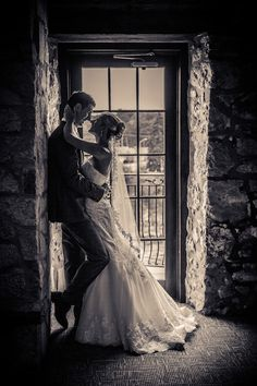 Cambridge Mill, Dickson Room, Bride and Groom, silhouette, black and white wedding silhouette, Cambridge, Ontario, Canada wedding photography experts | Anne Edgar Photography