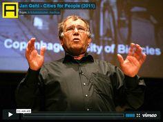 Jan Gehl's – CITIES FOR PEOPLE [104 min]
