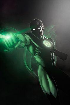 Green Lantern Hal Jorden by Nimesh Niyomal