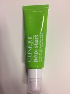 Clinique pep-start double bubble naamio poreilee iholla, poistaa epäpuhtaudet ja talin sekä kirkastaa, 50 ml 45 e