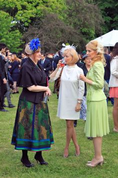 The annual Royal Garden Party held on the of May at Elisabeta Palace in Bucharest Royal Garden, Bucharest, Palace, Lace Skirt, Beautiful People, Party, Fashion, Moda, Fashion Styles