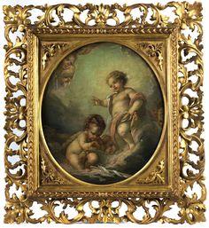 Französischer Maler des 18. Jahrhunderts in der Stilnachfolge von Bouchet Auction