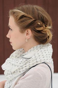 Twisted Hairstyle Tutorial. | Sidewalk Ready – Everyday Fashion Blog – Kayley Heeringa