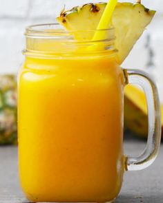 Servings: 2INGREDIENTS1 cup mango½ cup pineapple½ cup water 2-3 cups icePREPARATION Pour all ingredients into a blender and blend until smooth. Garnish and enjoy!
