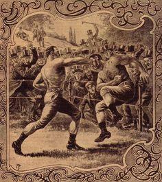 bare-knuckle boxing www.Facebook.com/McDojoLife