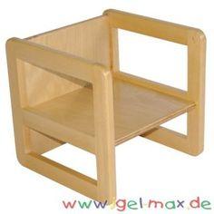Schon Max Kombihocker Mehrzweckstuhl Tisch Klein Buche