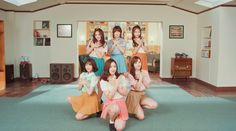 (I loved all the oufits in this MV) GFRIEND - NAVILLERA  One has these half skirt skorts on!