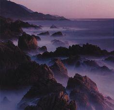 Purple blue violet coast rocks Purple Color Combinations, Bathrooms, Rocks, Coast, Water, Blue, Outdoor, Gripe Water, Outdoors