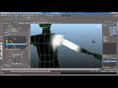 (56) Basic Character Rigging Part 3 / 3 - Paint Skin Weights Tool, Component Ed and Setting Max Influence - YouTube