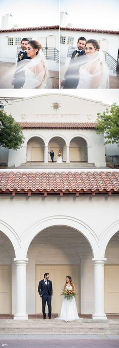 Lush, Colorful Summer Wedding Inspiration | Historic Fifth Street School Wedding - KMH Photography | Las Vegas Wedding Photography + Portrait Photography
