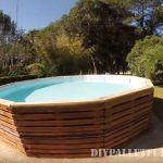 Vidéo de la façon de construire une piscine avec des palettes