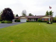 Spacious well maintained brick ranch in Clark Shawnee School District.  Handmade cabinets and plenty of them in the huge kitchen.  3 possible  4 bedrooms.  2 full baths.  Beautiful backyard with fruit trees.  Very unique.