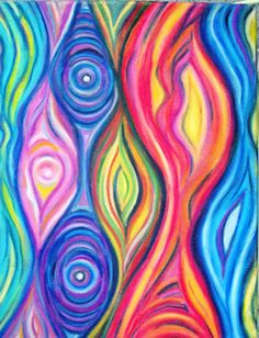 Abstract Art Original, Oil Pastel Abstract Art, inch Artwork on Canvas Museum Of Modern Art, Art Museum, Oil Pastel Art, Oil Pastels, Art Plastique, African Art, Art Oil, Painting Inspiration, Making Ideas