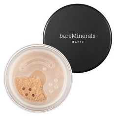 bareMinerals bareMinerals Matte Foundation Broad Spectrum SPF 15 in Fairly Light - for porcelain-to-light skin with neutral undertones #sephora