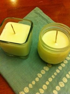DIY Candle making / @WholeGreenLove / http://wholegreenlove.com/2012/01/15/wax-wicks/