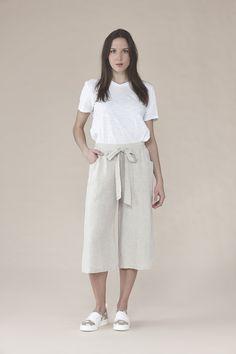 Linen pants 135.00$
