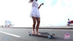 Dancing, Freestyle, Freeride & Downhill GuanabaraLongboard Ana Maria Suzano and Sara Watanabe Skate Longboarding .