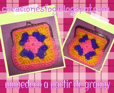 creaciones FOG: monedero crochet