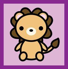 It's a lion! Little Lion Hello Kitty, Minnie Mouse, Disney Characters, Fictional Characters, Lion, Deviantart, Cards, Leo, Lions