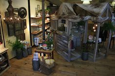 display for Anthropologie... I made the house... I want to make another :)