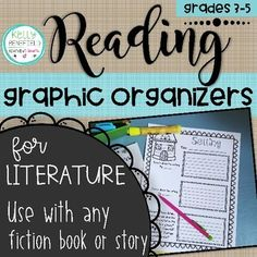 ***New Product Picture!*** Overview Are you looking for a resource that will help your students think deeply about their reading? If so, this tried and true set of reading graphic organizers is the resource for Graphic Organizer For Reading, Graphic Organizers, Describing Characters, Story Maps, Reading Comprehension Skills, Think Deeply, Common Core Reading, Common Core Standards, Grade 3