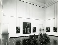 Paolo Monti Galleria di Palazzo Bianco, particolari dell'allestimento progettato da Franco Albini Genova, 1970