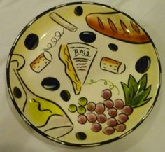 Clay Art Plate Brie Boun Vino Stone Lite Clay